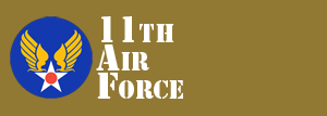 11th Air Force Website Logo