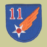 11h Army Air Forces WW2 Patch